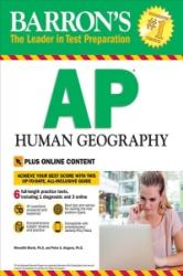 Barron's AP Human Geography, 7th Edition: With Bonus Online Tests (ISBN: 9781438010687)