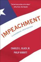 Impeachment - A Handbook, New Edition (ISBN: 9780300238266)