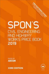 Spon's Civil Engineering and Highway Works Price Book 2019 (ISBN: 9781138612020)