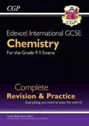 New Grade 9-1 Edexcel International GCSE Chemistry: Complete Revision & Practice with Online Edition (ISBN: 9781789080834)