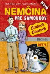 Nová nemčina pre samoukov + CD - Michal Dvorecký; Gudrun Mücke (ISBN: 9788081092183)