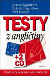Testy z angličtiny - Helena Šajgalíková, Štefánia Dugovičová, Věra Eliašová (ISBN: 9788081720109)