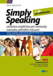 Simply Speaking + CD MP3 - Alena Kuzmová (ISBN: 9788026605348)