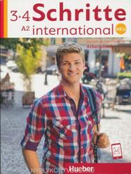 Schritte international Neu 3+4: Deutsch als Fremdsprache / Arbeitsbuch + 2 CDs zum Arbeitsbuch (2017)