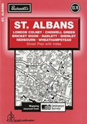 St Albans Street Plan (ISBN: 9781904678786)