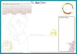 Dodo Jotter Pad - B5 Desk Sized Jotter-Scribble-Doodle-to-do-List-Tear-off-Notepad (ISBN: 9780857700759)