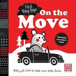 On the Move - A Pull-Tab Board Book to Help Your Baby Focus (ISBN: 9781526380012)