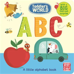 ABC - A Little Alphabet Board Book with a Fold-Out Surprise (ISBN: 9781526380029)