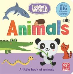 Animals - A Little Board Book of Animals with a Fold-Out Surprise (ISBN: 9781526380036)