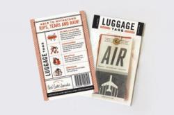 LUGGAGE TAGS AIR RAIL LAND SEA - Herb Lester (ISBN: 9781910023839)
