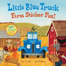 Little Blue Truck Farm Sticker Fun! (ISBN: 9780544066878)