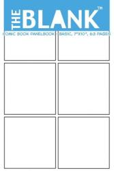 "The Blank Comic Book Panelbook - Basic, 7""x10, "" 63 Pages - About Comics (ISBN: 9781477424711)"