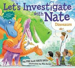 Let's Investigate with Nate #3: Dinosaurs (ISBN: 9780062357458)
