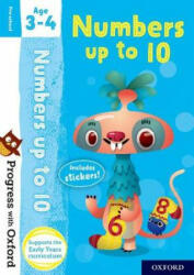 Progress with Oxford: Numbers up to 10 Age 3-4 (ISBN: 9780192765420)