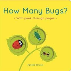 How Many Bugs? - A board book with peek-through pages (ISBN: 9781787412415)