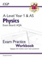New A-Level Physics for 2018: AQA Year 1 & AS Exam Practice Workbook - includes Answers (ISBN: 9781782949145)