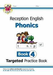 New English Targeted Practice Book: Phonics - Reception Book 4 (ISBN: 9781789080148)