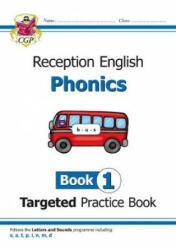 New English Targeted Practice Book: Phonics - Reception Book 1 (ISBN: 9781789080117)