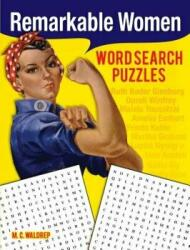 Remarkable Women Word Search Puzzles (ISBN: 9780486828169)