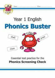 New KS1 English Phonics Buster - for the Phonics Screening Check in Year 1 (ISBN: 9781789080216)