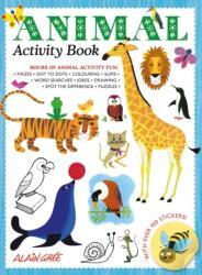 Animal Activity Book (ISBN: 9781787080188)