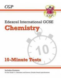 New Grade 9-1 Edexcel International GCSE Chemistry: 10-Minute Tests (ISBN: 9781789080865)