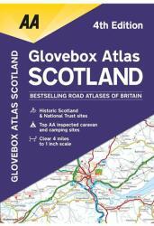 Glovebox Atlas Scotland (ISBN: 9780749579128)