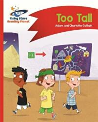 Reading Planet - Too Tall - Red B: Comet Street Kids - Adam Guillain, Charlotte Guillain (ISBN: 9781510411869)