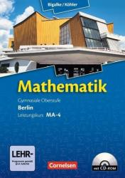 Mathematik Sekundarstufe II Leistungskurs MA-4 Qualifikationsphase. Schlerbuch Berlin (2012)