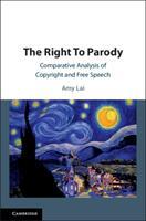 Right To Parody (ISBN: 9781108427388)