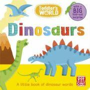 Toddler's World: Dinosaurs - Pat-a-Cake (ISBN: 9781526381385)