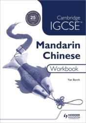 Cambridge IGCSE Mandarin Chinese Workbook (ISBN: 9781510451940)