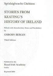 "Stories from Keating's ""History of Ireland"" (ISBN: 9781874045250)"