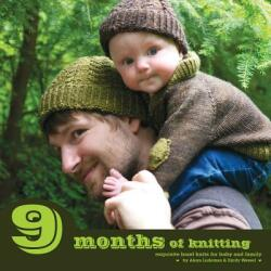 9 Months of Knitting: Exquisite Knits for Baby and Family (ISBN: 9780987762801)