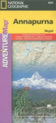 Annapurna-Nepal - Travel Maps International Adventure Map (2000)