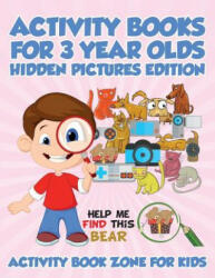 Activity Books for 3 Year Olds Hidden Pictures Edition (ISBN: 9781683762720)