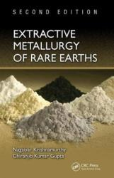 Extractive Metallurgy of Rare Earths (ISBN: 9781466576346)