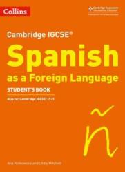 Cambridge IGCSE (TM) Spanish Student's Book (ISBN: 9780008300371)