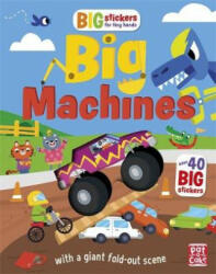 Big Stickers for Tiny Hands: Big Machines - Pat-a-Cake (ISBN: 9781526381651)