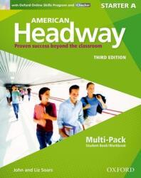 American Headway: Starter: Multi-Pack A with Online Skills and iChecker - collegium (ISBN: 9780194725484)