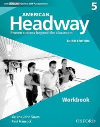 American Headway: Five: Workbook with iChecker - Paul Hancock (ISBN: 9780194726603)