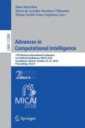 Advances in Computational Intelligence - 17th Mexican International Conference on Artificial Intelligence, MICAI 2018, Guadalajara, Mexico, October 2 (2019)