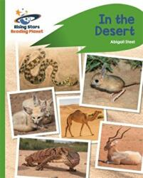 Reading Planet - In the Desert - Green: Rocket Phonics (ISBN: 9781510441859)