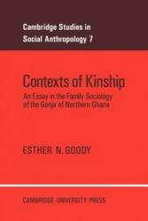 Cambridge Studies in Social and Cultural Anthropology - Esther N. Goody (ISBN: 9780521017206)