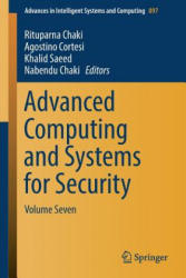 Advanced Computing and Systems for Security - Volume Seven (ISBN: 9789811332494)