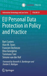 Eu Personal Data Protection in Policy and Practice (ISBN: 9789462652811)