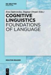 Cognitive Linguistics - Foundations of Language (ISBN: 9783110622973)