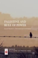 Palestine and Rule of Power - Alaa Tartir, Timothy Seidel (ISBN: 9783030059484)
