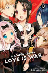 Kaguya-sama: Love Is War, Vol. 10 - Aka Akasaka (ISBN: 9781974706631)