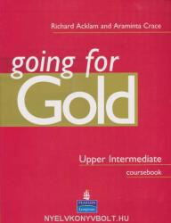 Going for Gold Upper Intermediate Coursebook - Acklam Richard (2006)